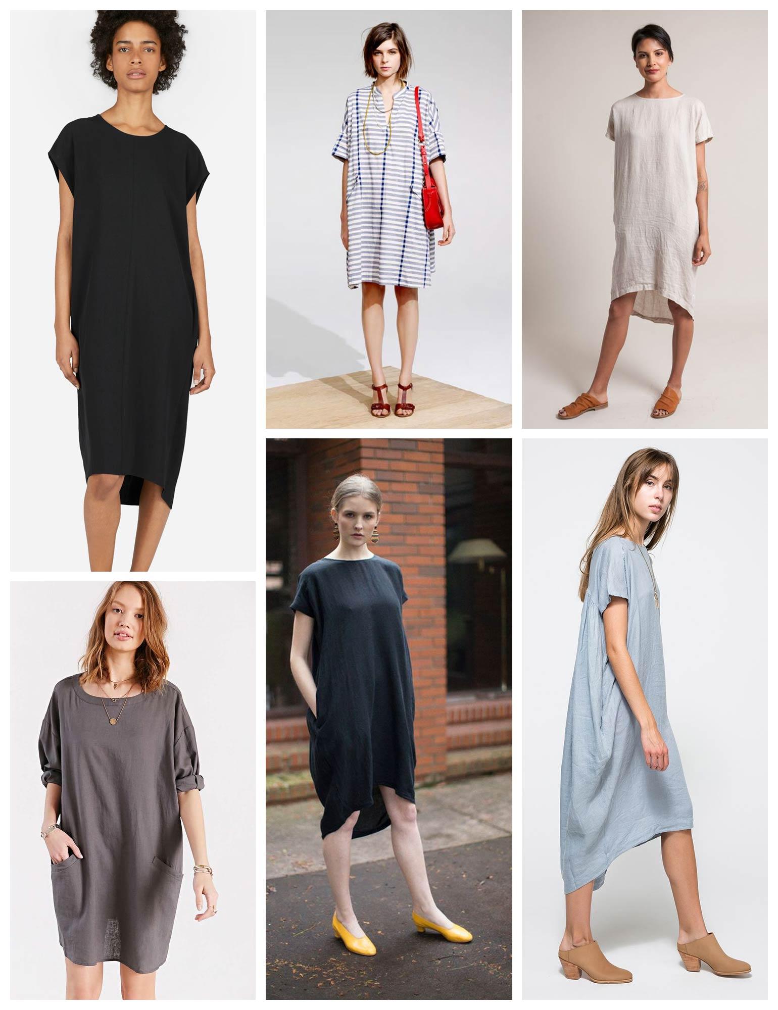 Lou Box Dress Sewalong Day 1 –Lou Box Dress 1 Inspiration