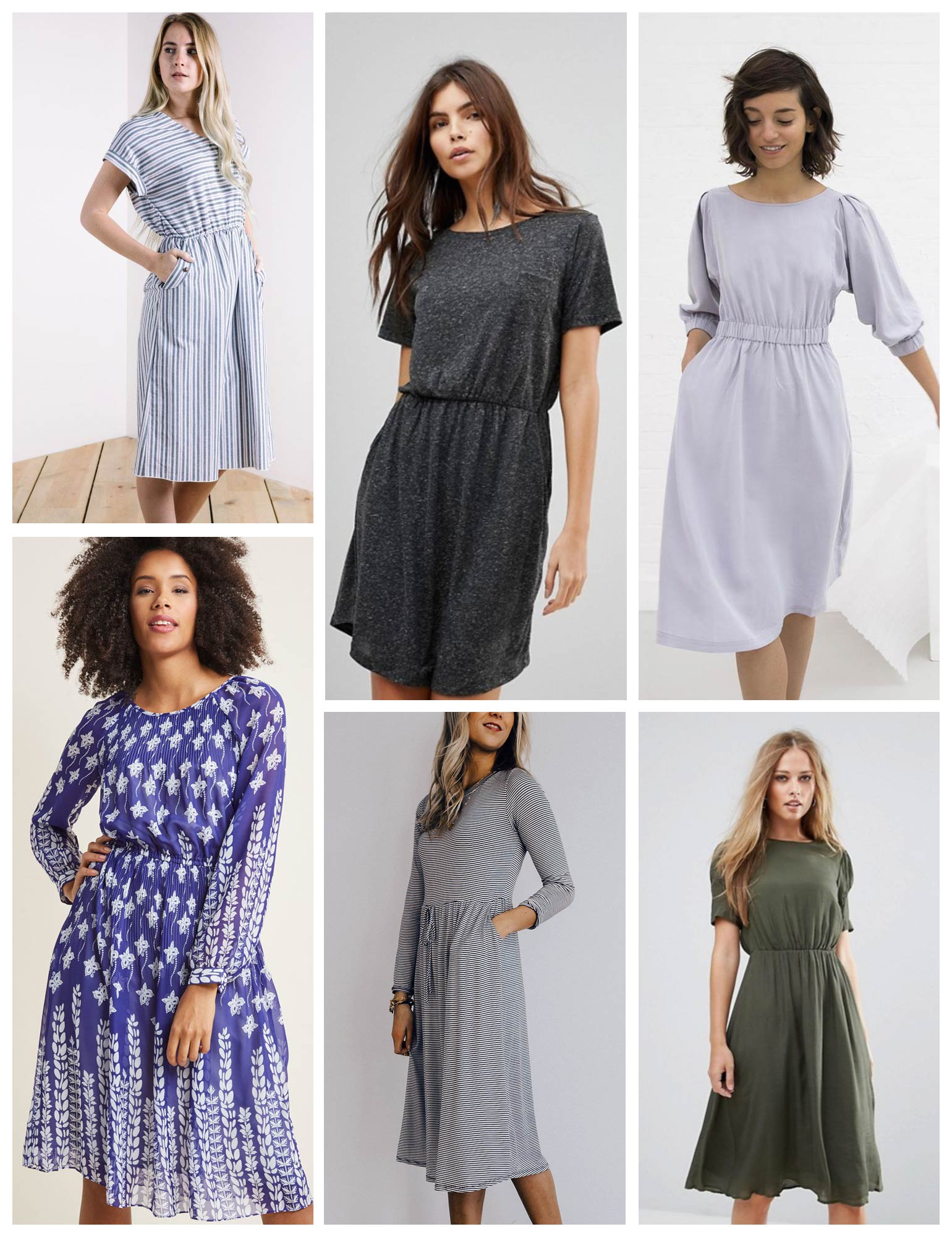 Lou Box Dress 2 Inspiration | Sew DIY