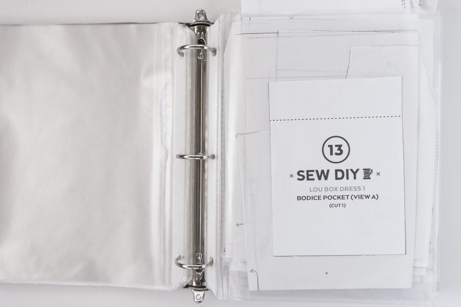 How to Print and Store PDF Patterns – Lou Box Dress Sewalong Day 3 | Sew DIY