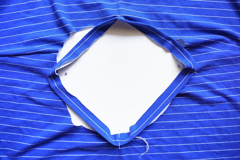 How to Sew a Knit Neck Binding –Lou Box Dress Sewalong Day 4 | Sew DIY