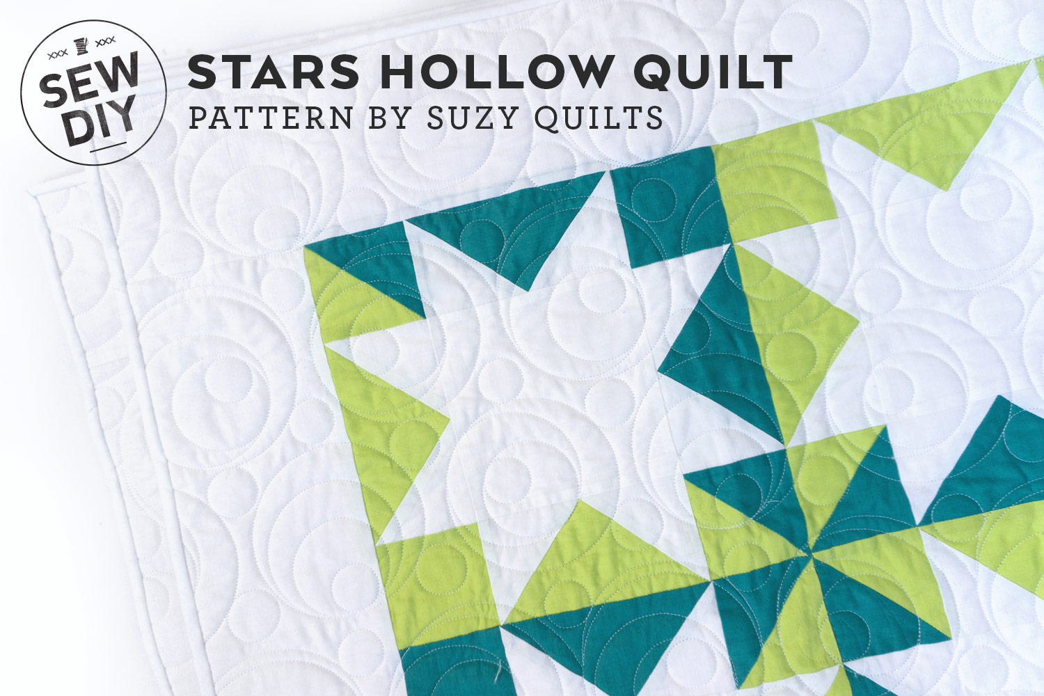 Stars Hollow Quilt – Pattern by Suzy Quilts   Sew DIY