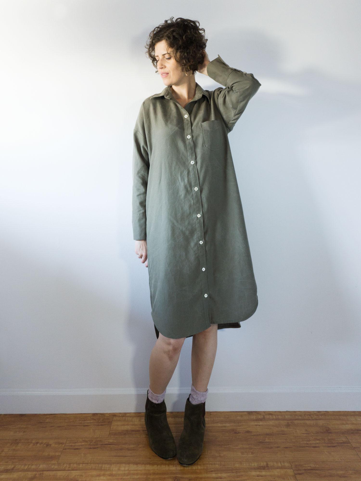 DIY Shirtdress – Review of the Kalle Shirtdress by Closet Case Patterns   Sew DIY