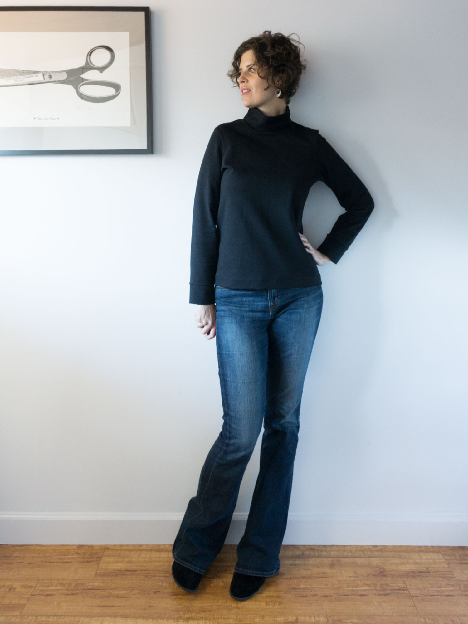 DIY Funnel Neck Top – Review of the Piper Top by Christine Haynes | Sew DIY