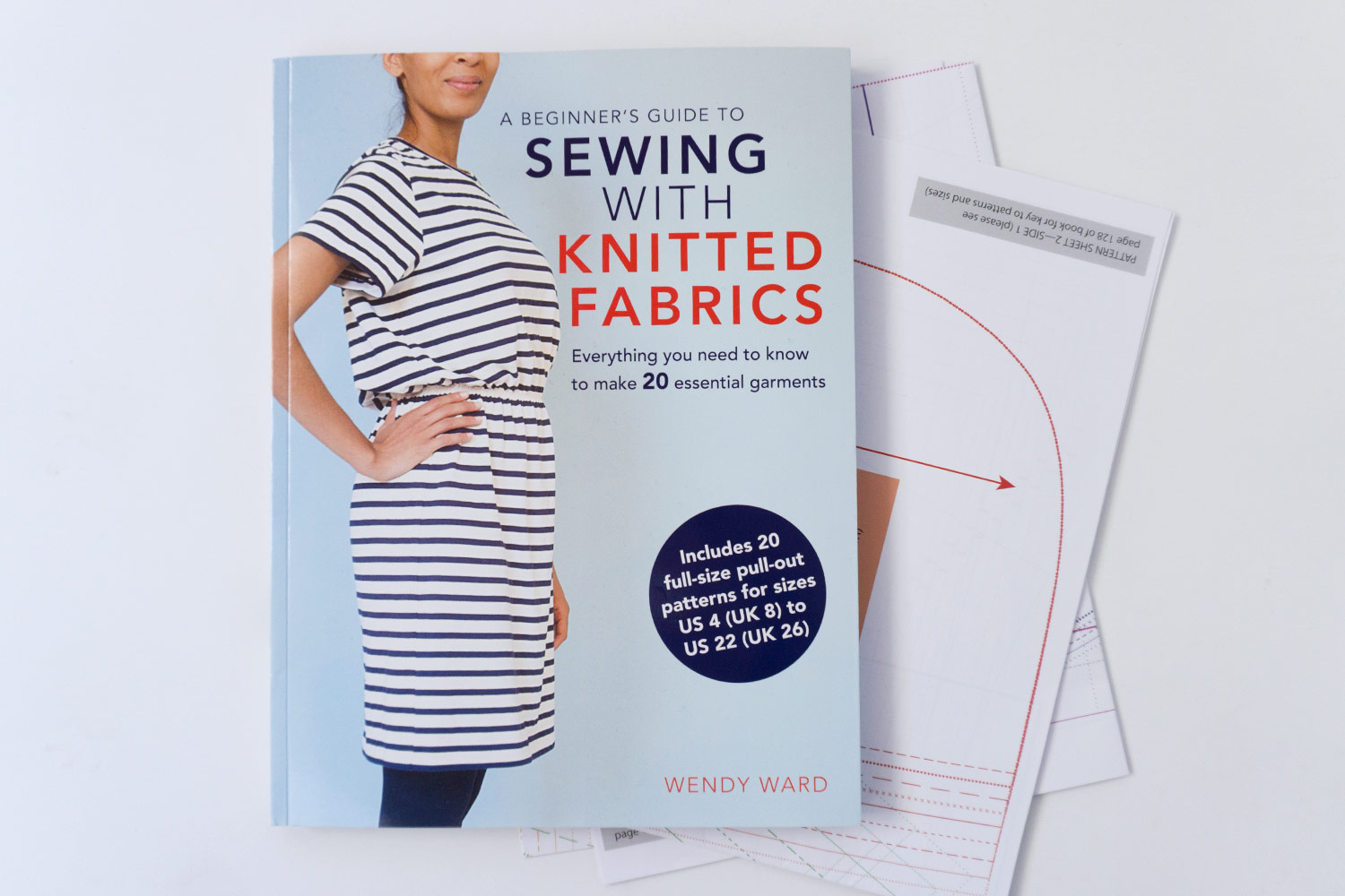 Blog Tour – A Beginner's Guide to Sewing with Knitted Fabric | Sew DIY