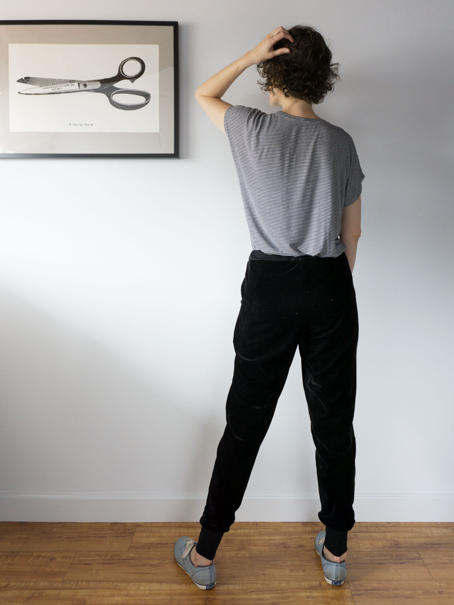 Monsal Lounge Pants – A Beginner's Guide to Sewing with Knitted Fabric | Sew DIY