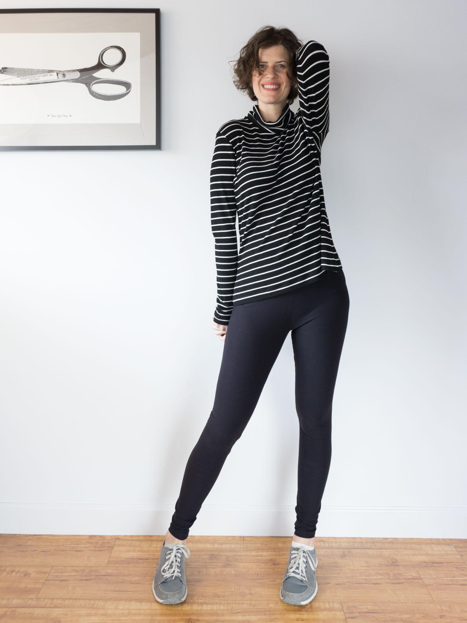 DIY Striped Turtleneck – Seamwork Neenah Pattern   Sew DIY