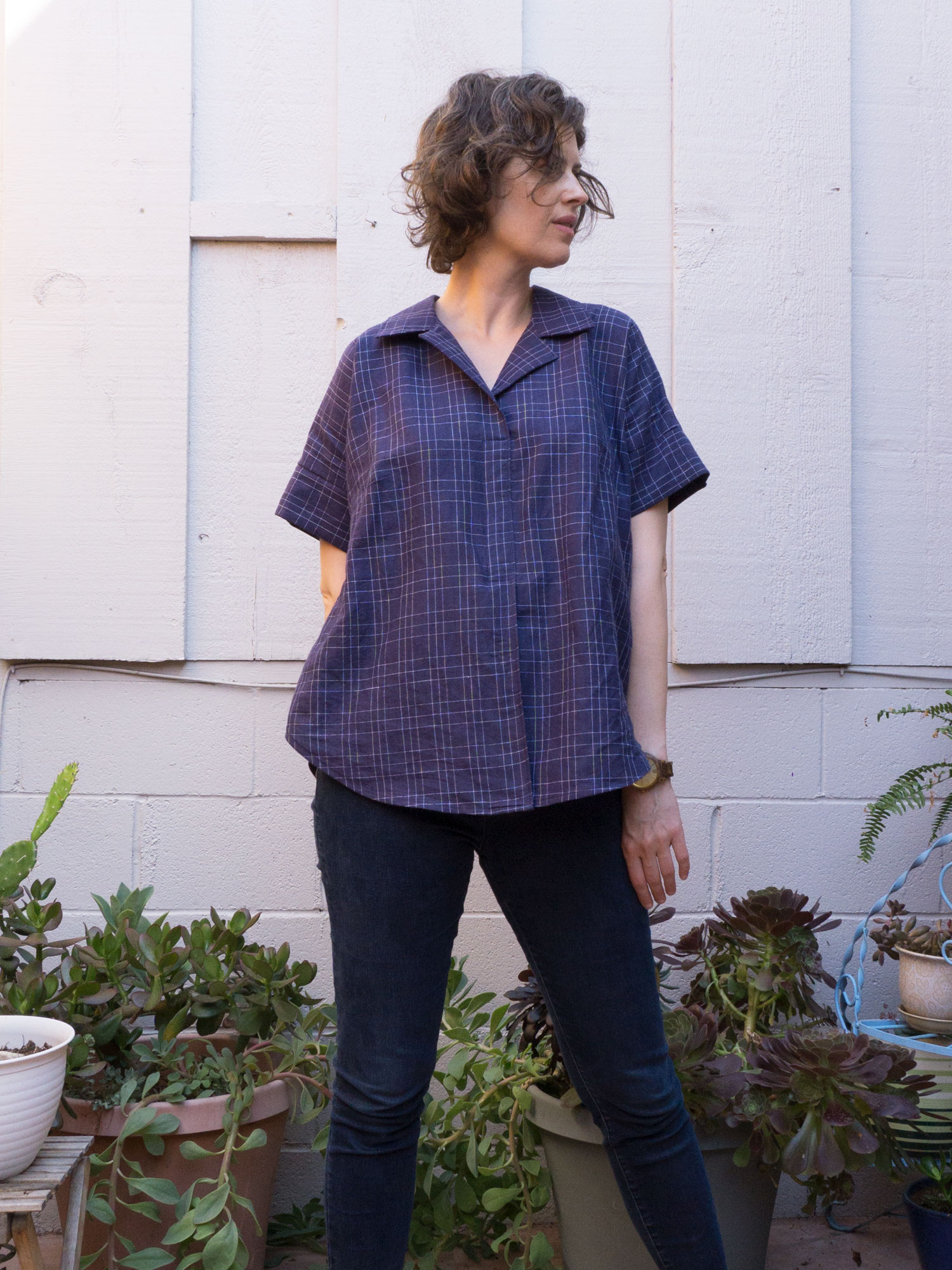 DIY Easy Collared Shirt –Review of the Willamette Shirt by Hey June Patterns | Sew DIY