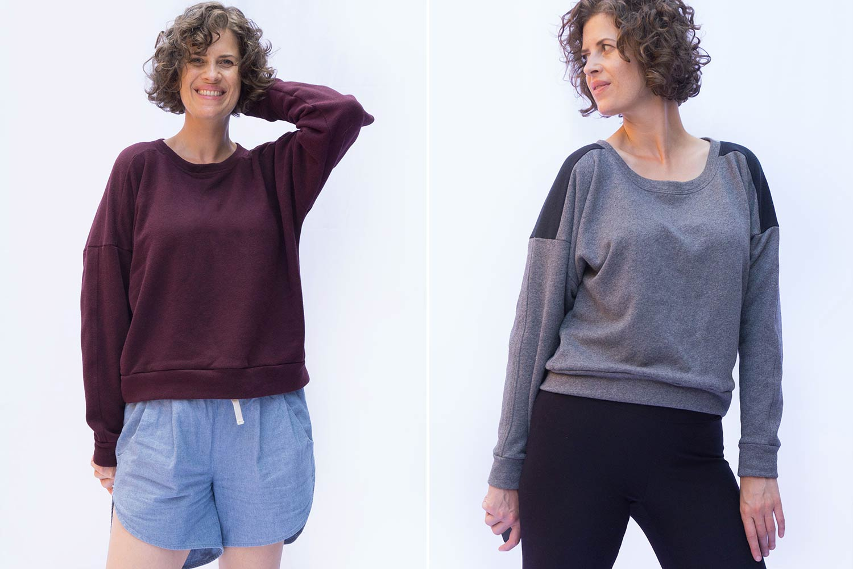 Ali Sweatshirt Sewalong Day 2 - Selecting Your Size | Sew DIY