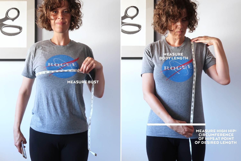 Ali Sweatshirt Sewalong Day 2 - Selecting Your Size and Printing | Sew DIY