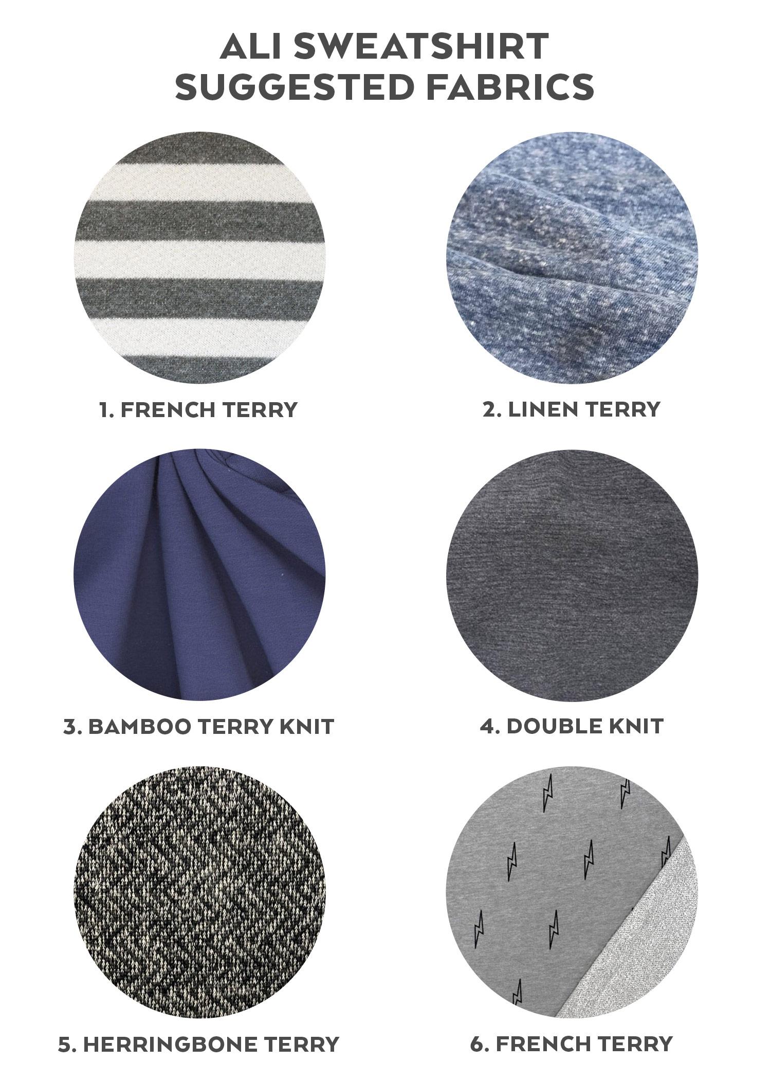 Ali Sweatshirt Sewalong Day 3 - Fabric & Supplies | Sew DIY