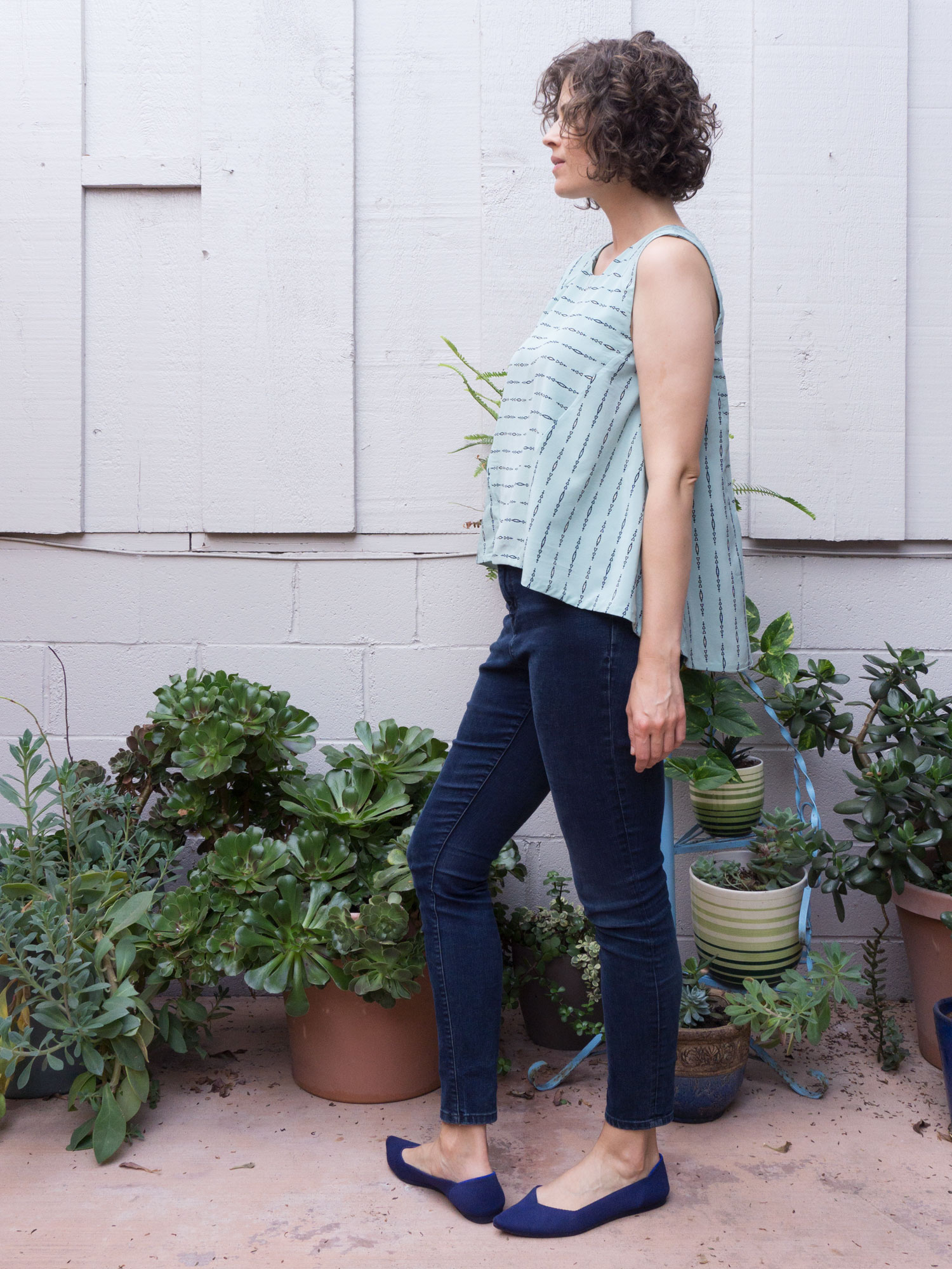 Review of the Collins Top by In The Folds | Sew DIY