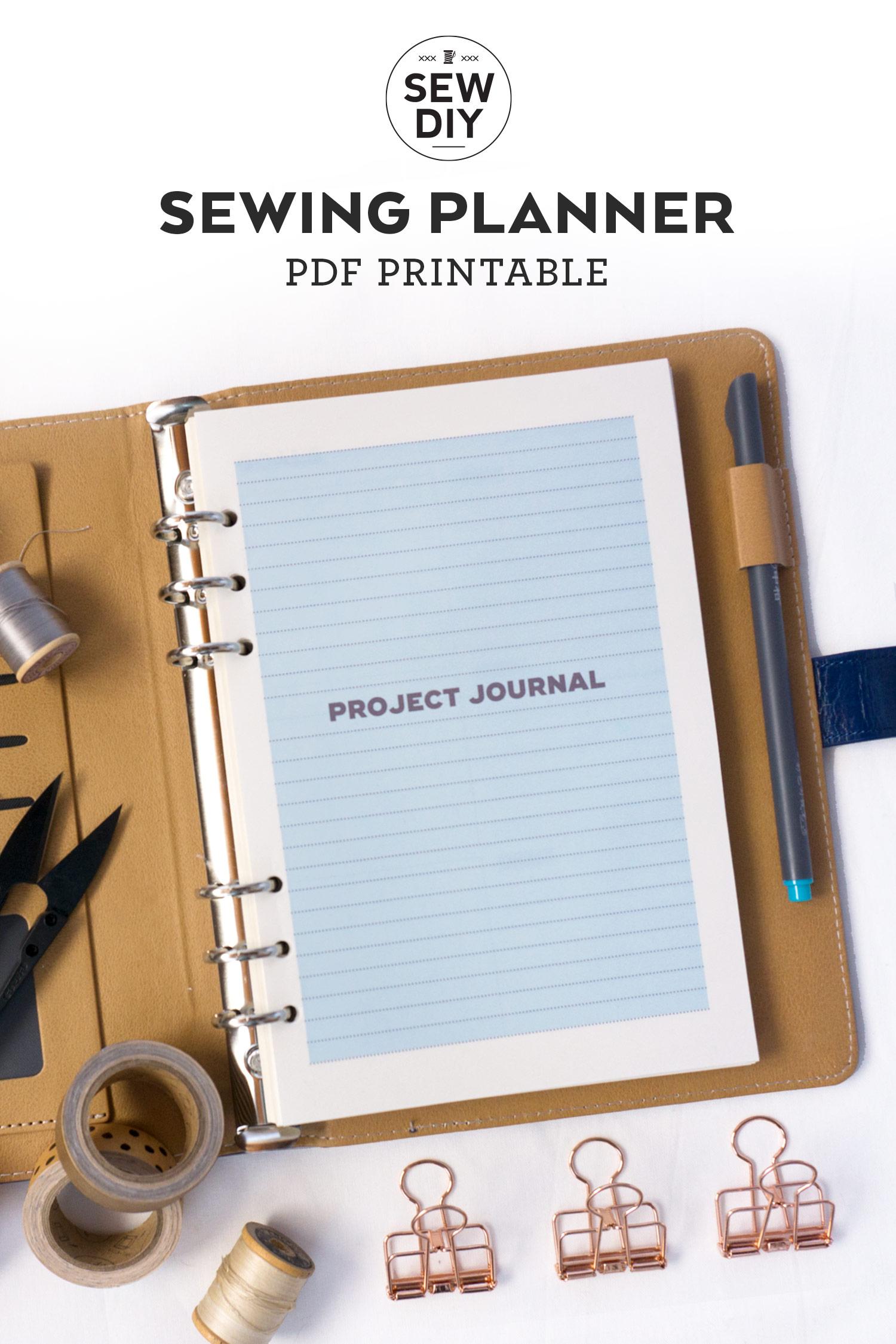 Introducing The Sew Diy Printable Sewing Planner Sew Diy