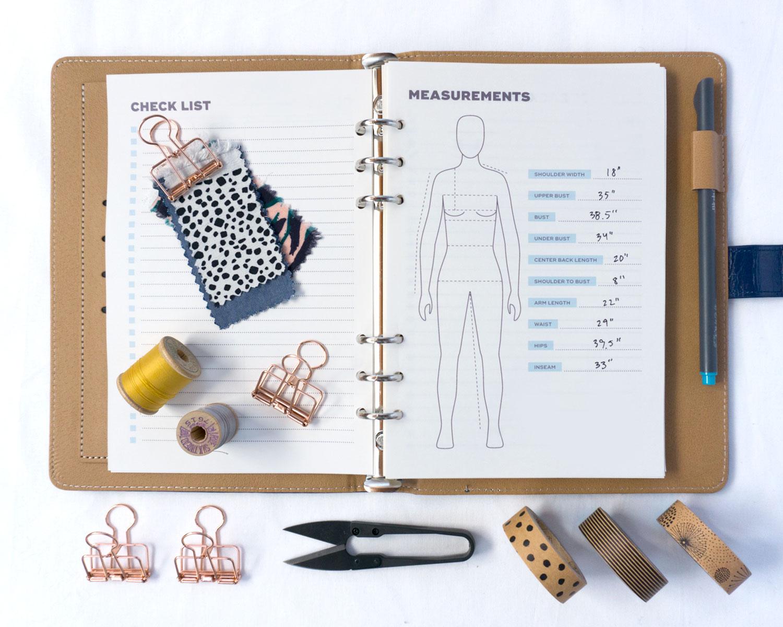 Sewing Planner PDF Printable | Sew DIY