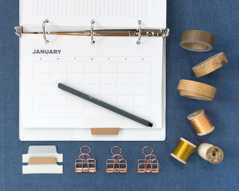 Printable Sewing Planner | Sew DIY