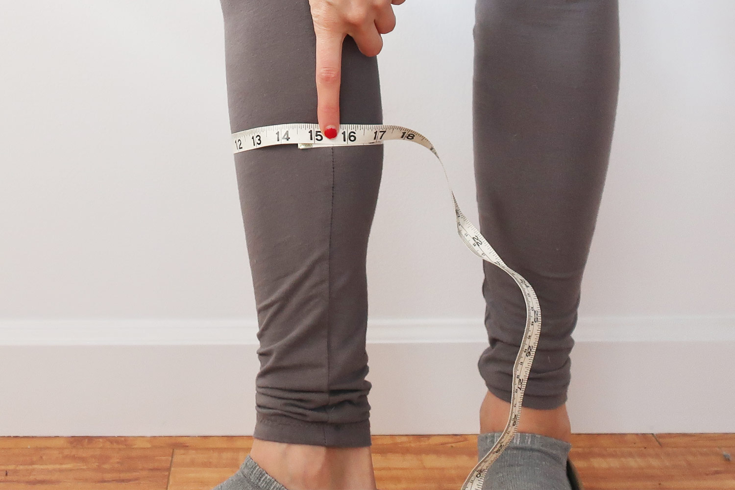 How to make a full calf adjustment   Sewing tutorial from Sew DIY