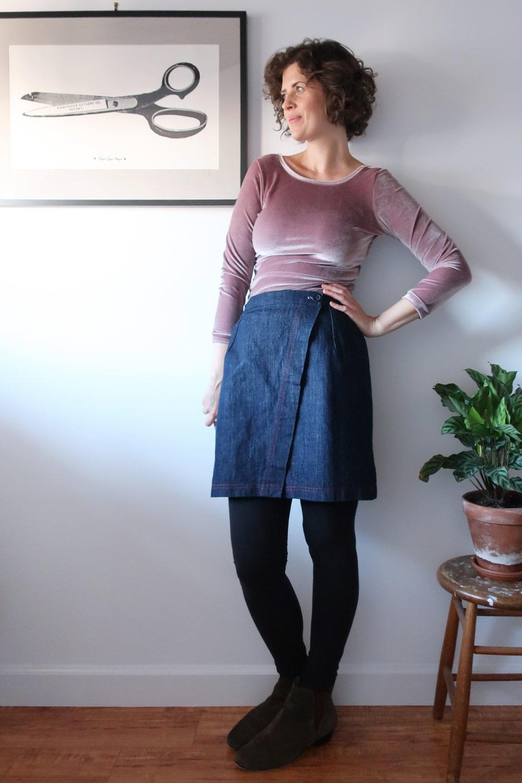 DIY Velvet Bodysuit | Sew DIY