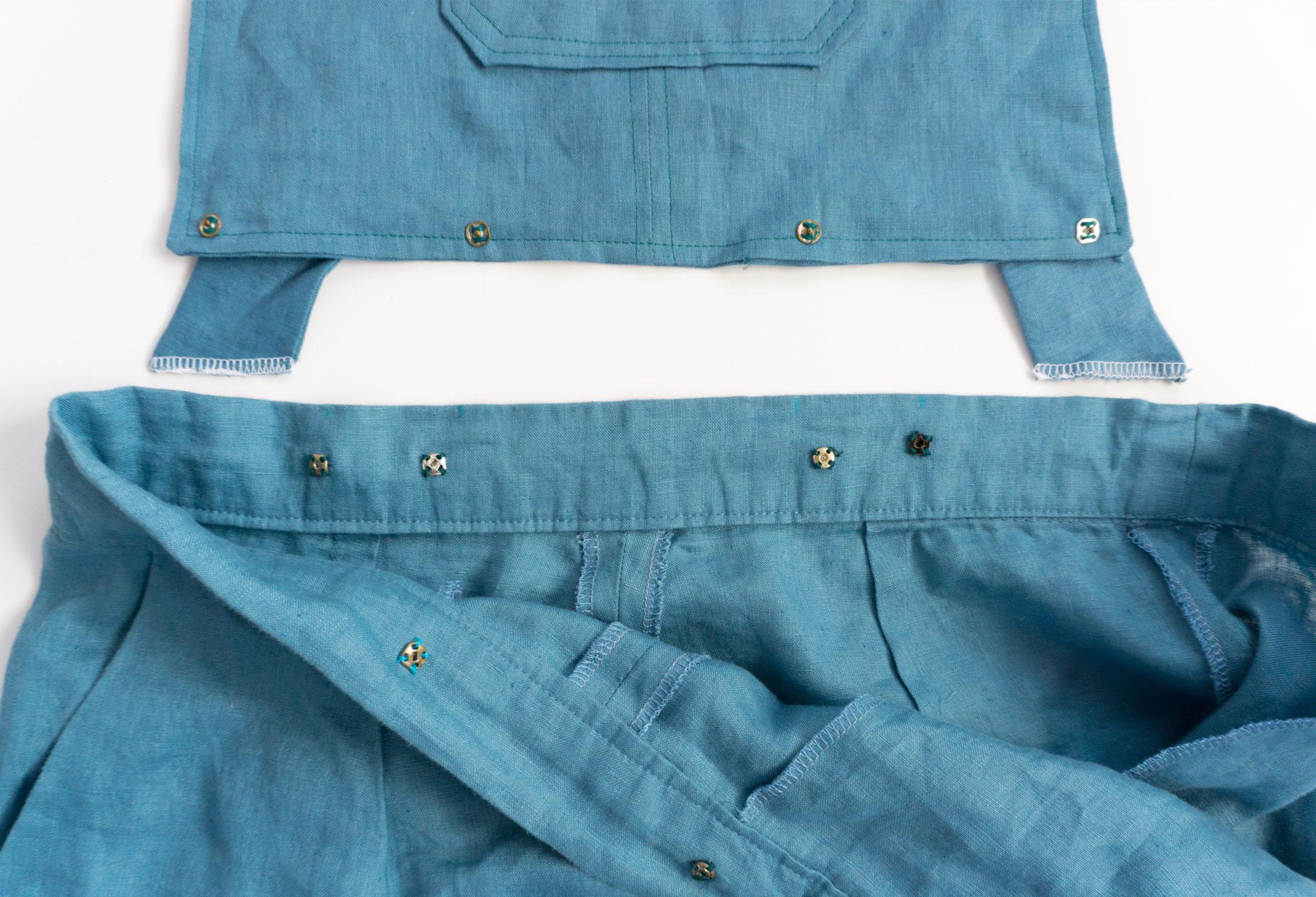 DIY Detachable Flint Bibs - Sew DIY