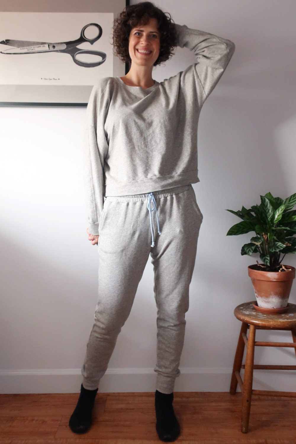 DIY Sweatsuit - Ali Sweatshirt and Hudson Pants