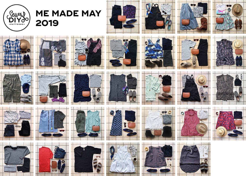 Me Made May 2019 - Sew DIY