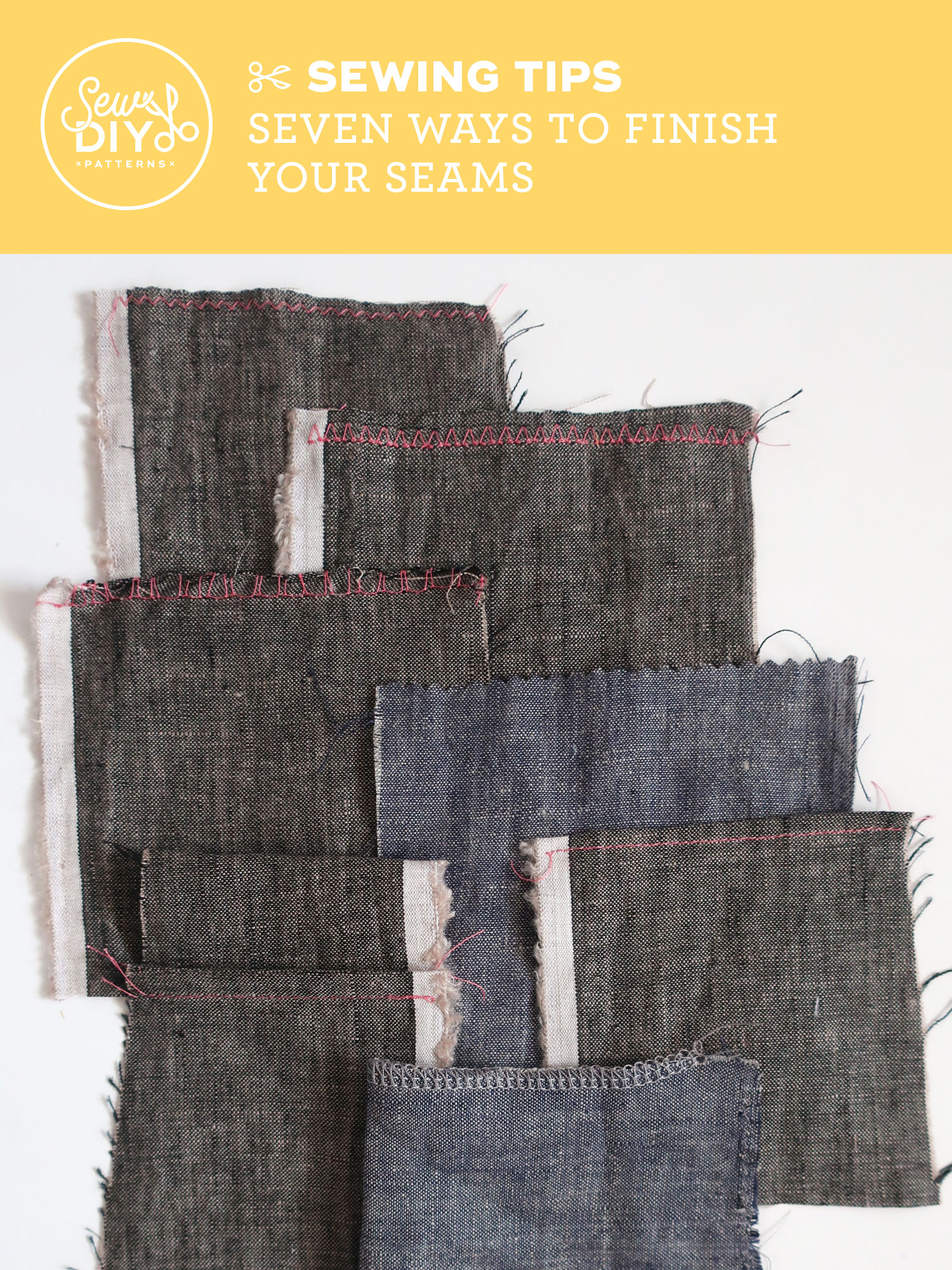 VIDEO - Seven Ways to Finish Your Seams from Sew DIY