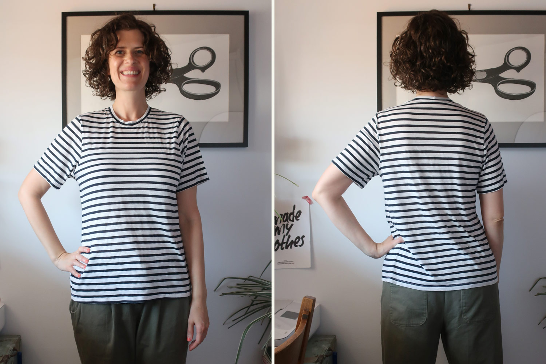 Seamwork Jane T-shirt - Sew DIY