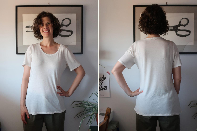 Grainline Lark T-shirt - Sew DIY