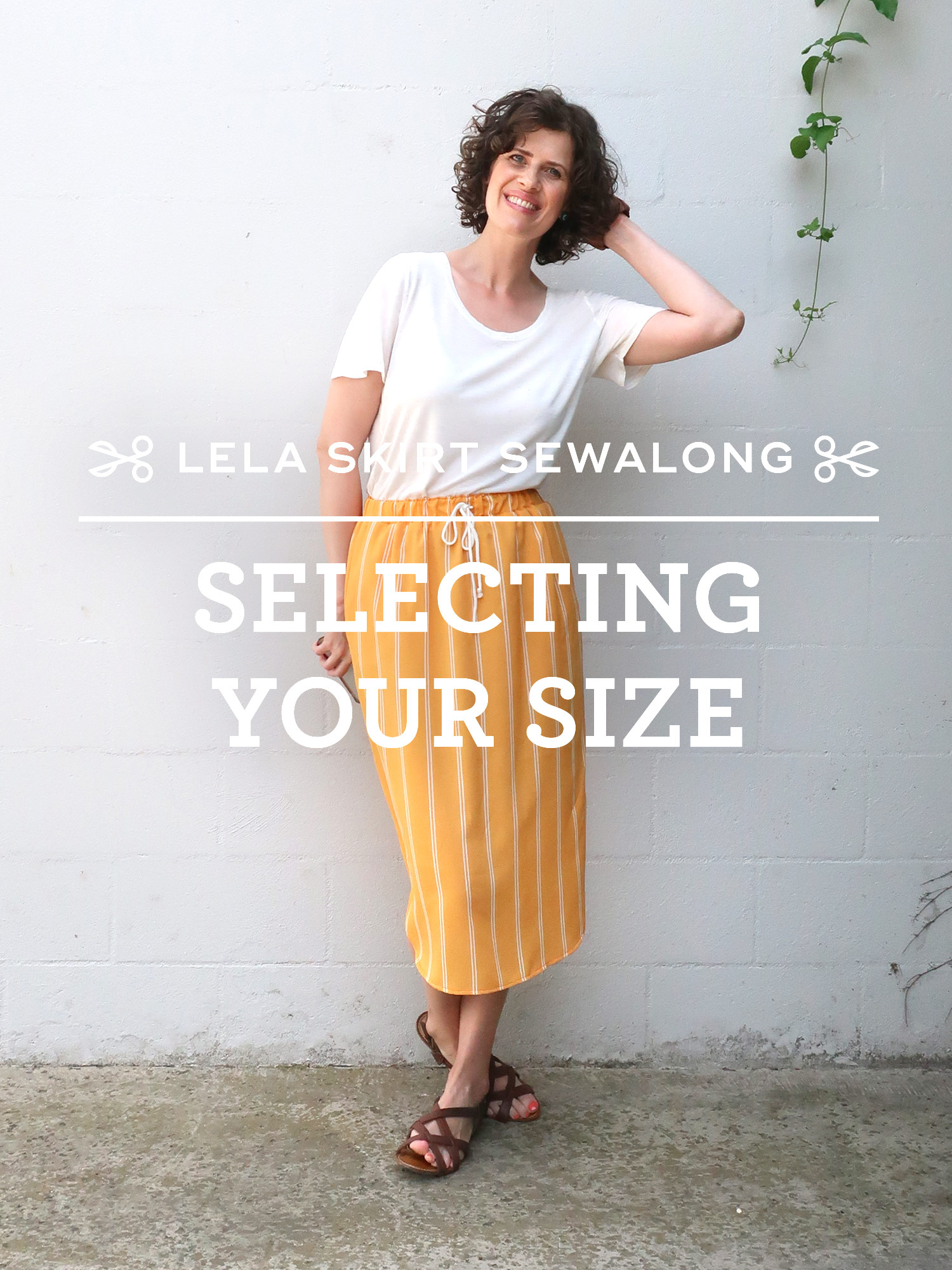 Lela Skirt Sewalong - Selecting Your Size | Sew DIY