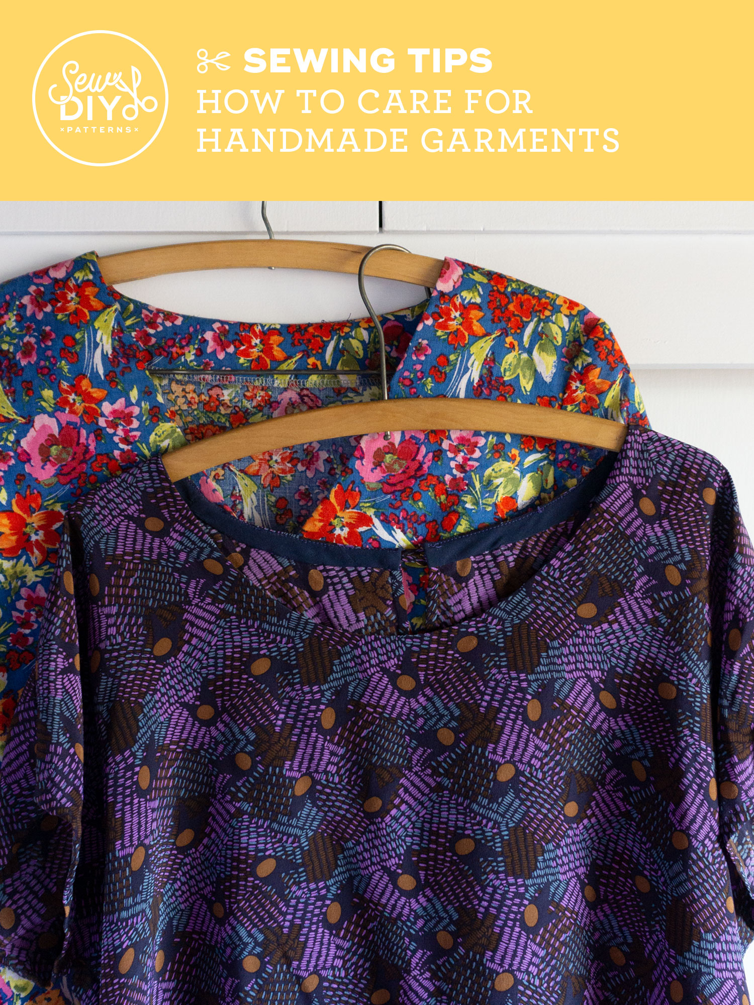 VIDEO Six Tips for How to Care for Handmade Garments