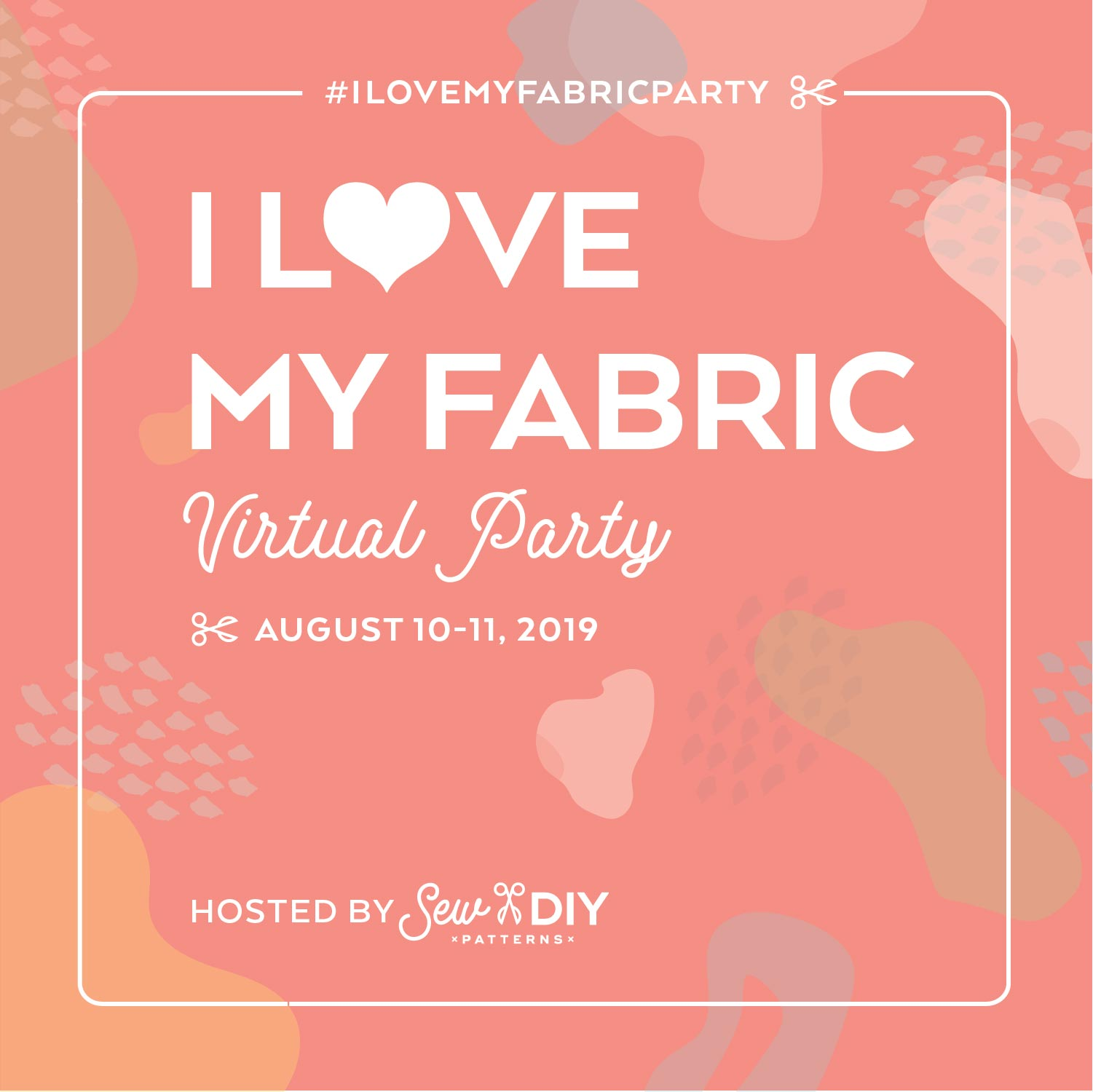 You're invited to a Fabric Party - Sew DIY