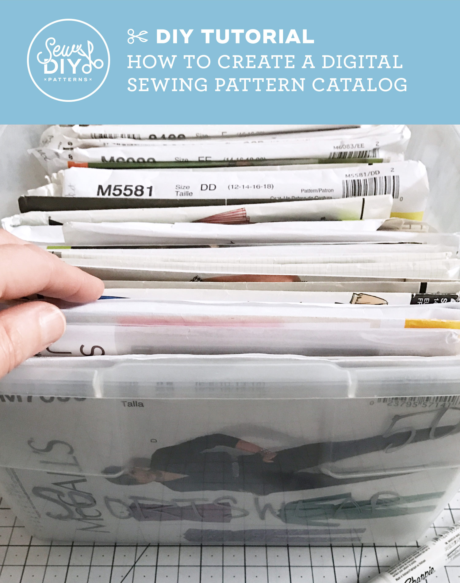 Learn the simple steps to create a digital pattern catalog using Evernote