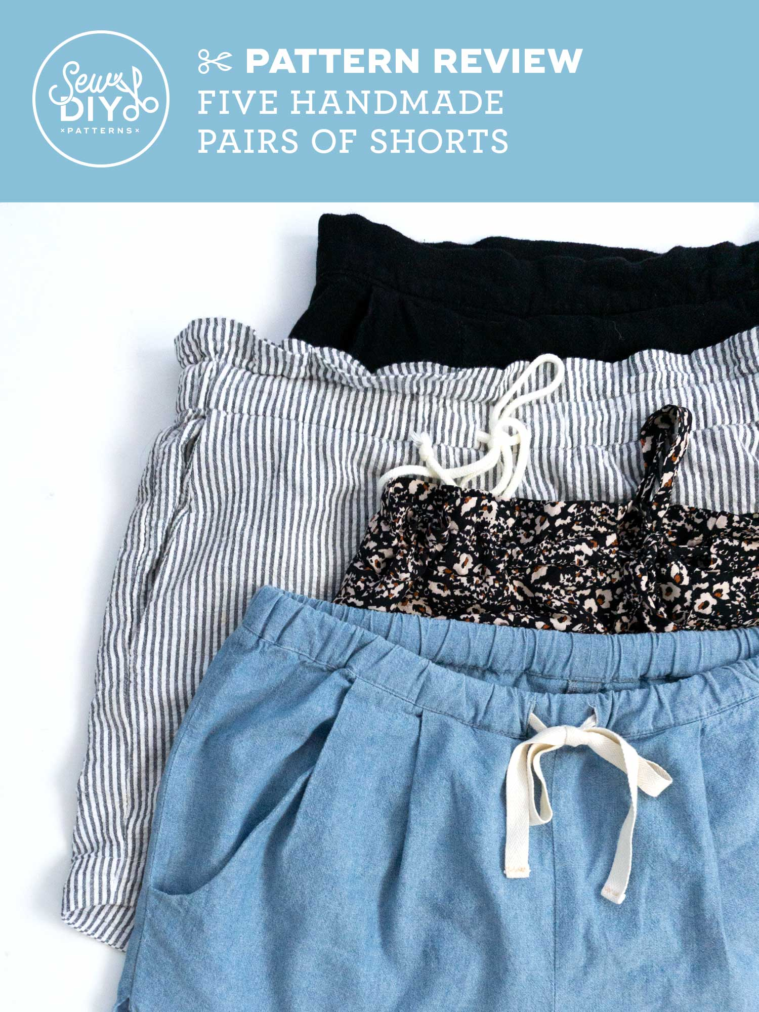 VIDEO Stuff I Made -Five pairs of handmade shorts