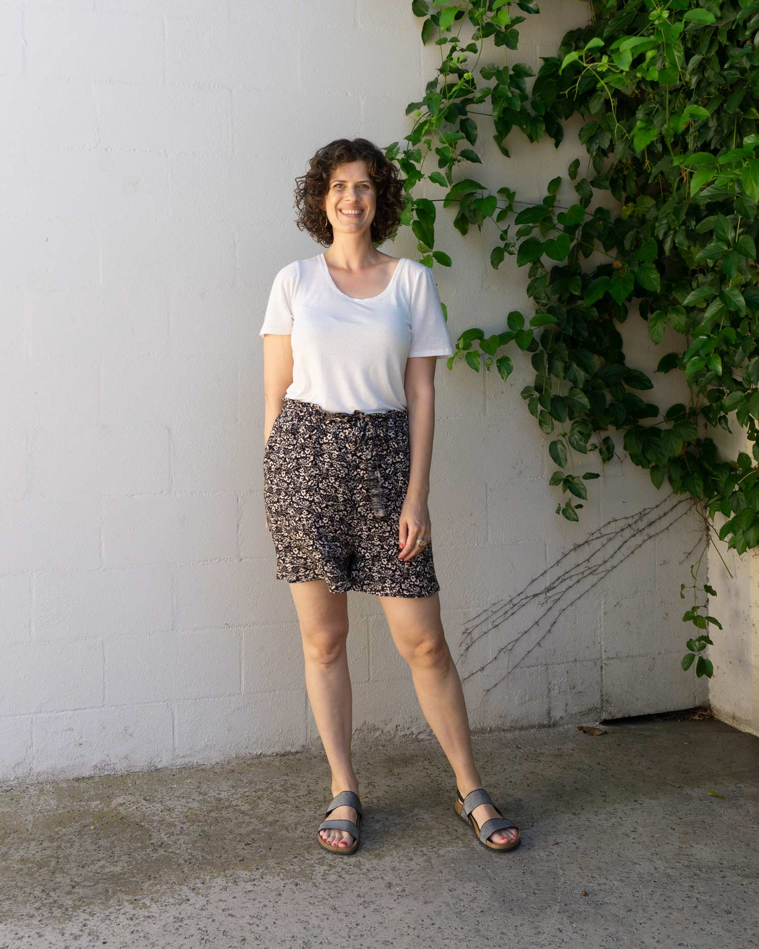 DIY Paperbag Shorts - Review of the Miller Shorts by Seamwork