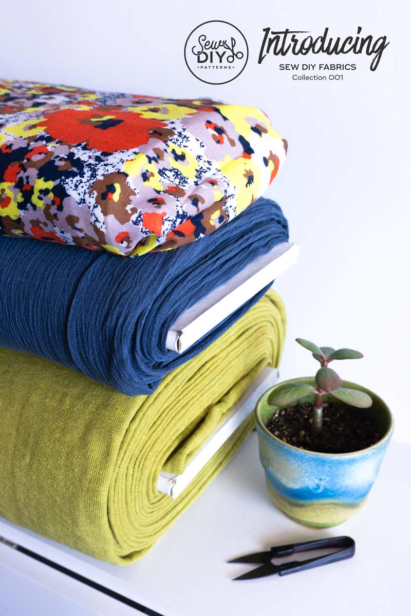 Introducing deadstock fashion fabric from Sew DIY