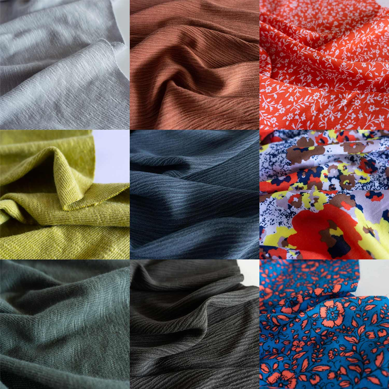 Sew DIY Fabrics Collection 001 Fall 2019