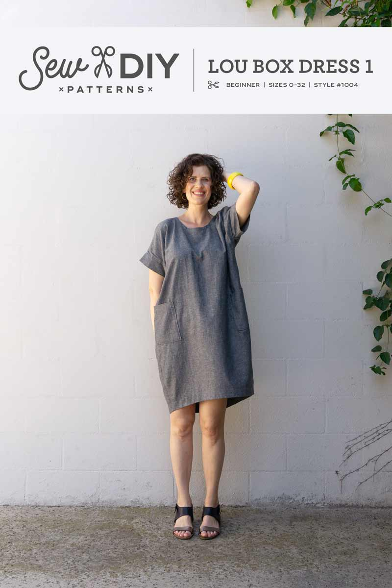 Announcing! The relaunch of the Lou Box Dress patterns!