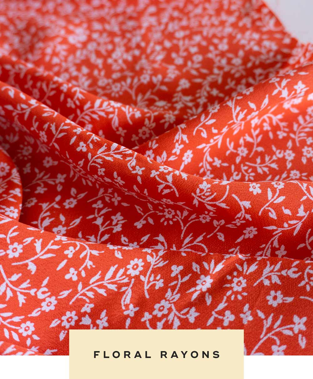 Floral rayons from Sew DIY