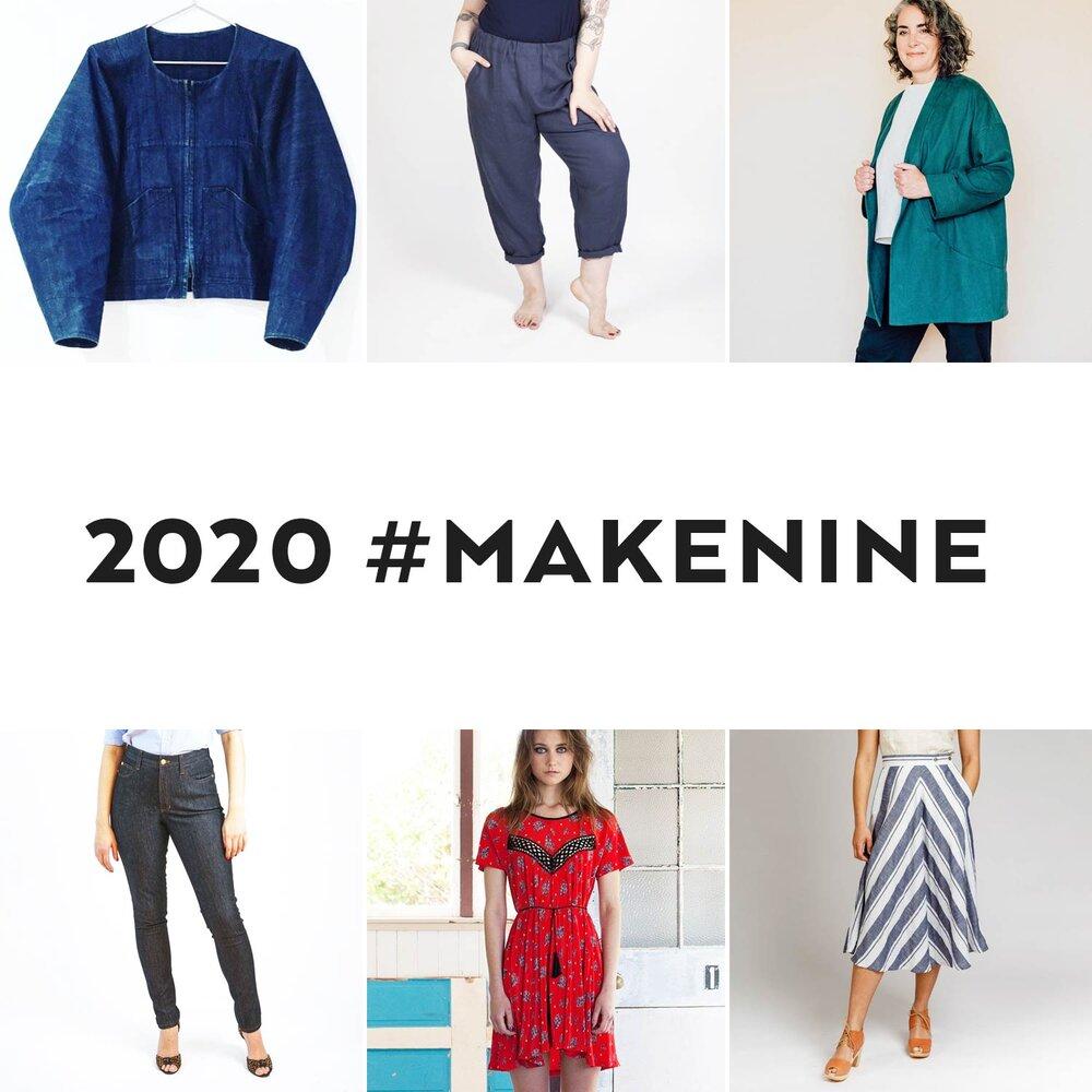 2020 Make Nine Challenge - Sew DIY