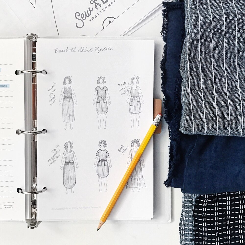 My 2020 sewing plans and Make Nine challenge
