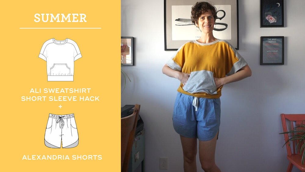 How to style the Ali Sweatshirt for Summer