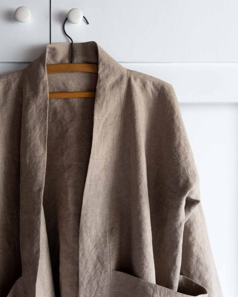Seam finishes for the Tasi Robe and Jacket