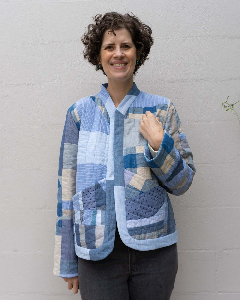 Improv Quilted Coat by Sew DIY