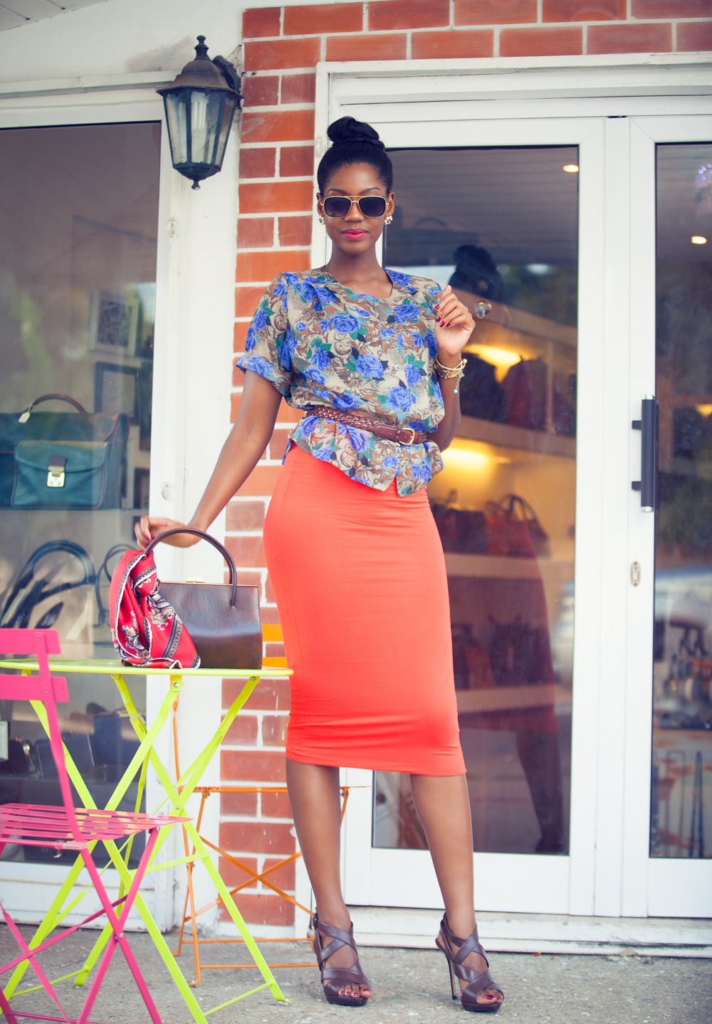 Afua Rida Styled by rida blossom and wednesday vintage wear quarets