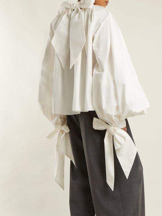 A.W.A.K.E white blouse