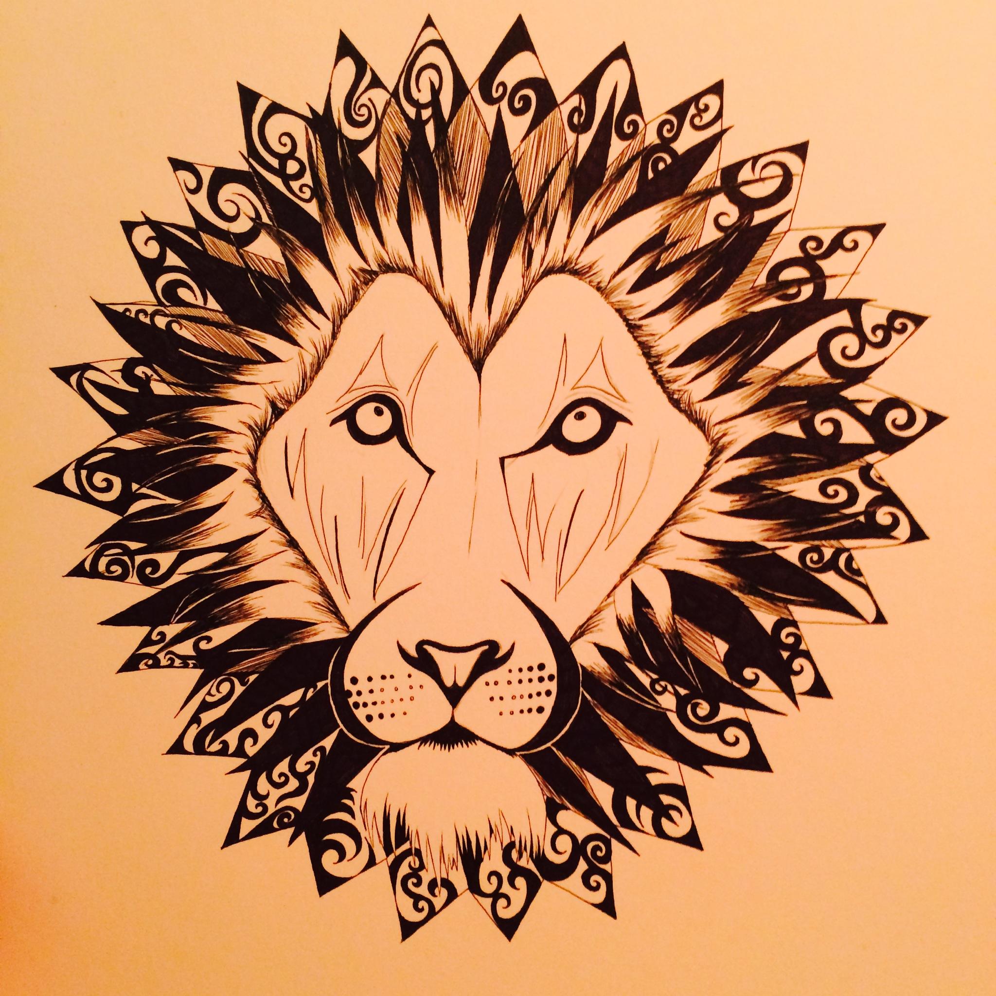 """© 2014   Megan White  ,  """"The Leo"""""""