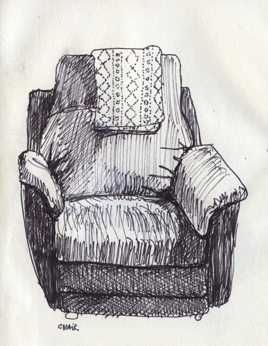 "© 2014   Ava Decapri,    ""Chair"""