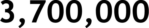 3,700,000