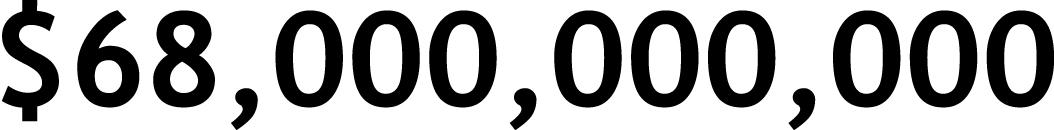 68,000,000,000