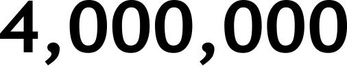 4,000,000