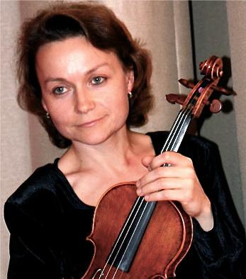 Natasha Bogachek, violin