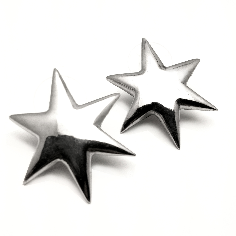 6 POINTED STAR EARRINGS